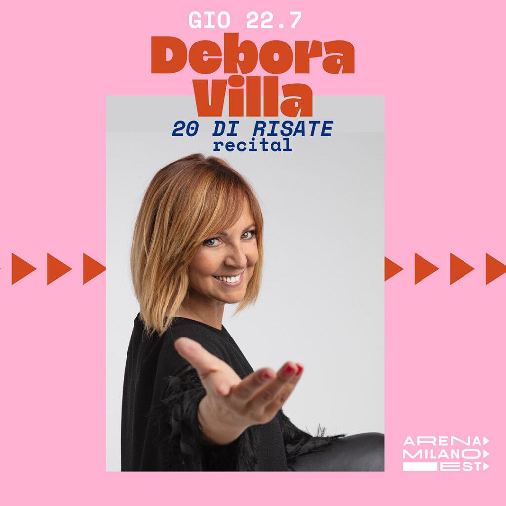 Debora Villa - Arena Milano Est