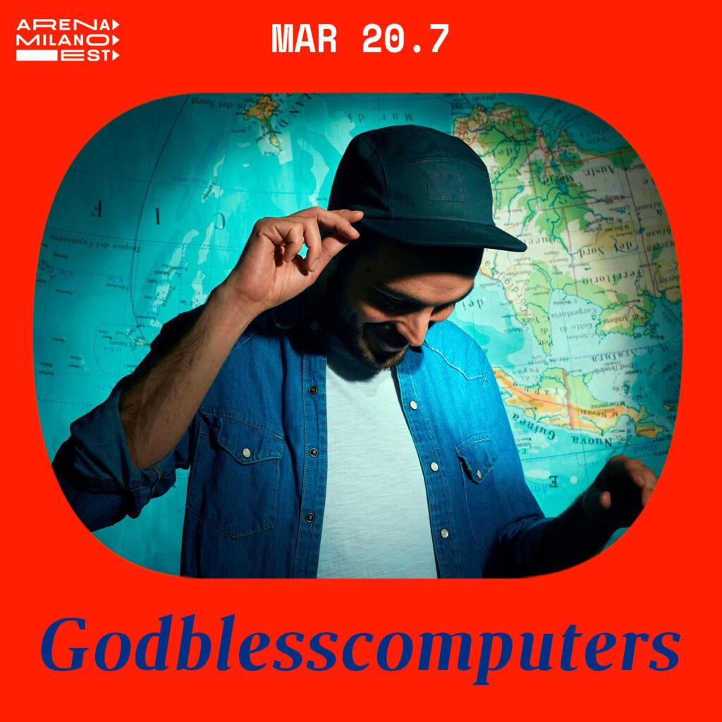 Godblesscomputers all'Arena Milano Est