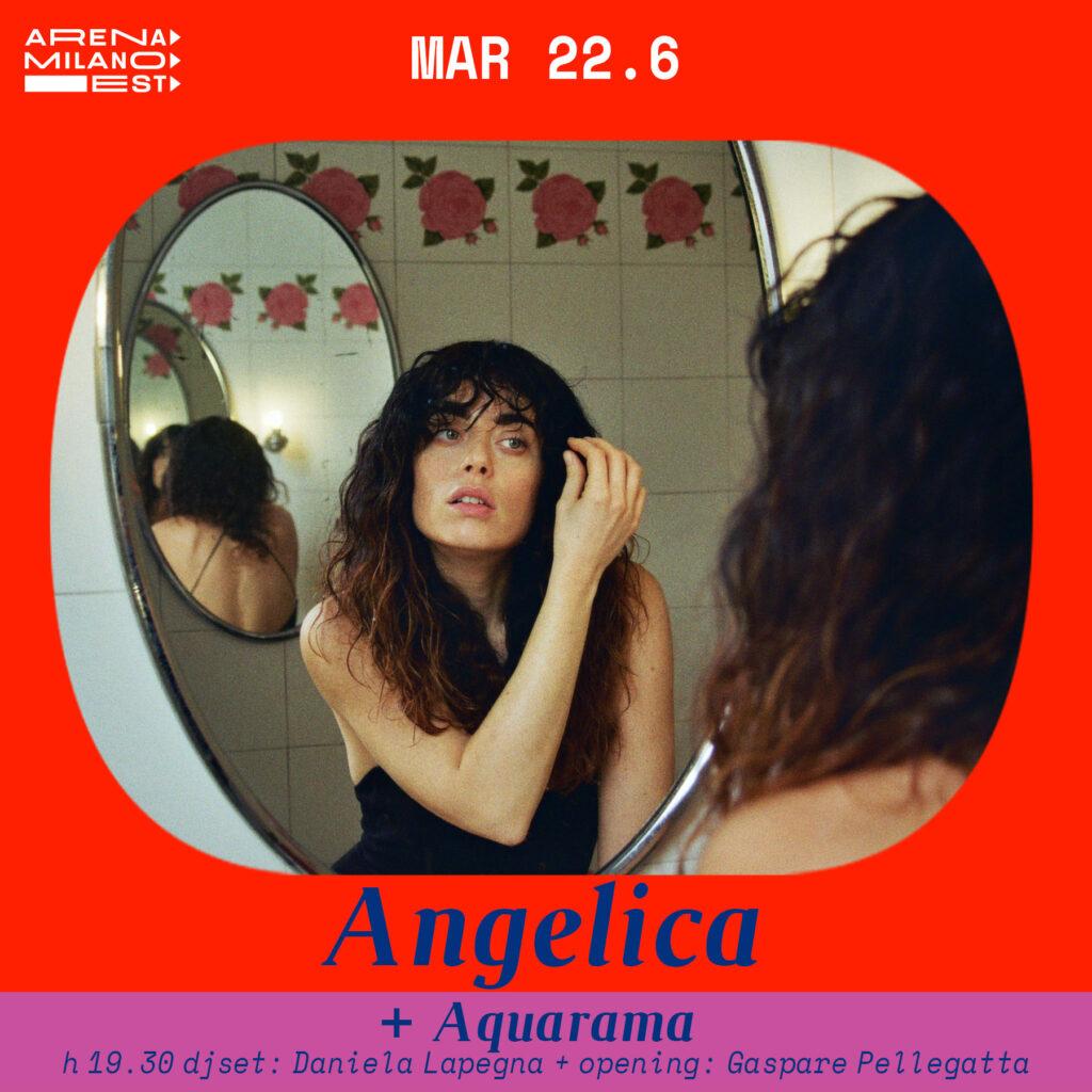 Angelica e Aquarama all'Arena Milano Est