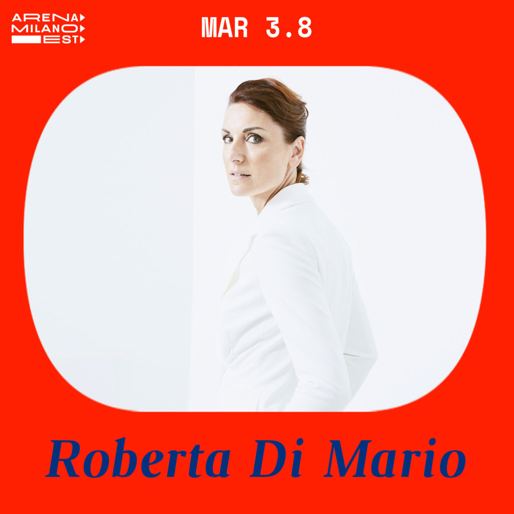Roberta Di Mario all'Arena Milano Est