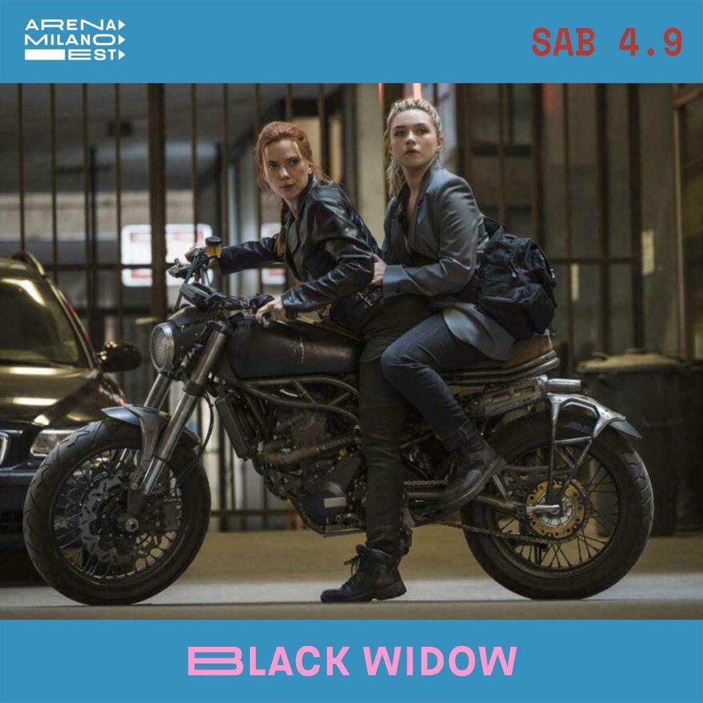 Black Widow all'Arena Milano Est